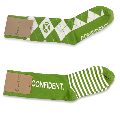 One Inc Socks SOC Confident